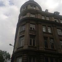 Photo taken at Université Saint-Louis by Enis on 6/21/2013