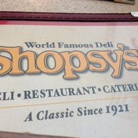 Photo taken at Shopsy's Deli by Nevdogg on 10/6/2012