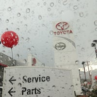 Photo taken at Larry H. Miller Toyota Colorado Springs by Tanya M. on 7/13/2013