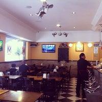 Photo taken at Monarca Bar & Café by Rainer Eduardo L. on 11/2/2013