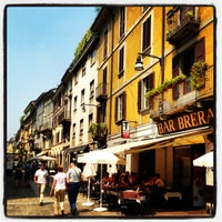 Photo taken at Brera by Irina N. on 6/18/2013