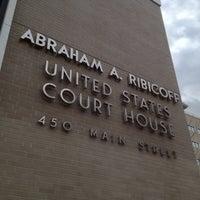 Photo taken at Abraham Ribicoff Federal Courthouse by Cherry on 11/28/2012