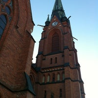 Photo taken at Umeå Stads Kyrka by Galina S. on 3/28/2014