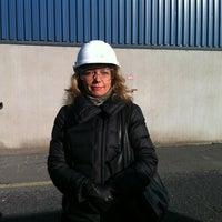 Photo taken at Outokumpu Tornio Works by Galina S. on 3/18/2014