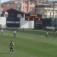 Photo taken at Yusuf Ziya Öniş Stadyumu by Birsen Ş. on 2/3/2013