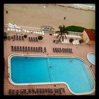 Photo taken at Ramada Plaza Marco Polo Beach Resort by Rodrigo M. on 9/16/2012