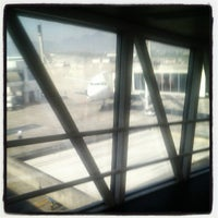 Photo taken at Gate 28 by Rodrigo M. on 9/17/2012