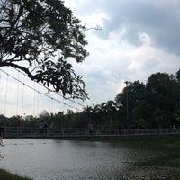 Photo taken at Somdet Phra Si Nakarin 95 Park by PiCK N. on 4/9/2014