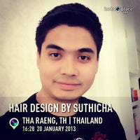 Photo taken at Hair Design By Suthicha by Songphol H. on 1/20/2013