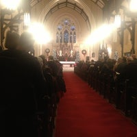 Photo taken at Sacred Heart Cathedral by David B. on 12/24/2012