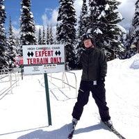 Photo taken at Crystal Mountain Ski Area by Spenser H. on 4/17/2013