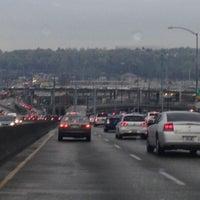 Photo taken at West Seattle / Jeanette Williams Memorial Bridge by Spenser H. on 4/4/2013