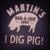 Photo taken at Martin's Bar-B-Que by Mark B. on 4/4/2014