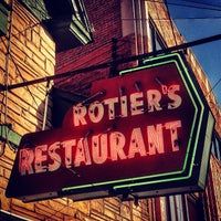 Photo taken at Rotier's Restaurant by Mark B. on 6/3/2014