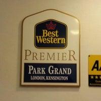 Photo taken at Park Grand London Kensington by .Manu . on 9/13/2013