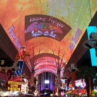 Photo taken at Fremont Street Flightlinez by .Manu . on 3/20/2013
