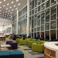 Photo taken at James B. Hunt Jr. Library by Safa A. on 1/29/2013
