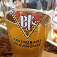 Photo taken at BJ's Restaurant and Brewhouse by Sean G. on 4/14/2013