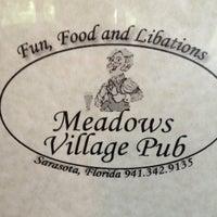 Photo taken at Meadows Village Pub by Shane G. on 5/31/2013