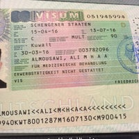 Photo taken at Germany Visa Application Centre by ALI A. on 4/3/2016