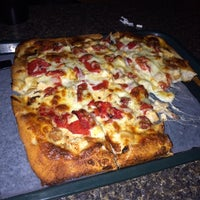Photo taken at Joe Santucci's Square Pizza Bar and Grill by Federico M. on 11/26/2013