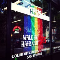 Photo taken at World Hair by world h. on 7/19/2013