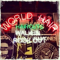 Photo taken at World Hair by world h. on 8/30/2013