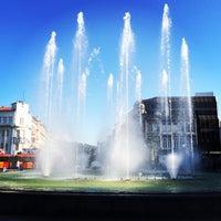 Photo taken at Braga Centro by Eduardo P. on 4/15/2014