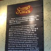Photo taken at Sonny's BBQ by Pam L. on 2/23/2016