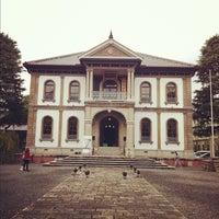 Photo taken at 龍谷大学 大宮学舎 北黌 by Masahiro K. on 10/28/2012