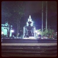 Photo taken at Parque Central de Alajuela by Carlos O. on 9/30/2012
