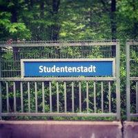 Photo taken at Studentenstadt Freimann (StuSta) by Stefano S. on 5/11/2013