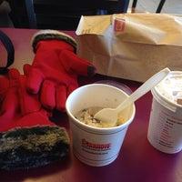 Photo taken at Dunkin' Donuts by Ipshita K. on 1/24/2014
