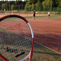 Photo taken at Impivaaran Tenniskenttä by Iida K. on 7/11/2014