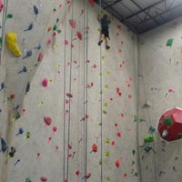 Photo taken at Ibex Climbing Gym by Terri M. on 6/5/2013