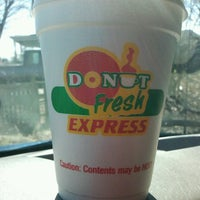 Photo taken at Donut Fresh Express by Bob H. on 4/17/2013