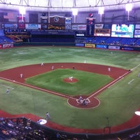 Photo taken at Tropicana Field by Gerardo G. on 5/27/2013