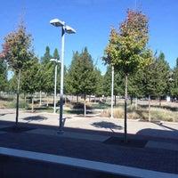Photo taken at Baylor Medical Center Station (DART Rail) by Pam V. on 10/19/2012