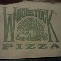 Photo taken at Woodstock's Pizza by Katie H. on 2/26/2013