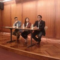 Photo taken at NYU Palladium Multi-Purpose Room by Steve E. on 10/5/2013
