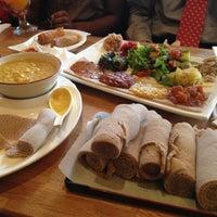 Photo taken at Desta Ethiopian Kitchen by Rohit A. on 5/6/2013