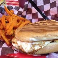 Photo taken at Papa Joe's Burger & Stuff by Sergio C. on 7/3/2014