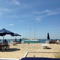 Photo taken at Navy Beach Restaurant by Chris S. on 6/9/2013