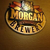 Photo taken at Morgan Street Brewery by Kar2 on 2/2/2013