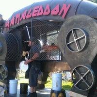 Photo taken at The Great GoogaMooga by Brett T. on 5/22/2012