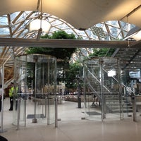 Photo taken at Portcullis House by Mike N. on 9/10/2012
