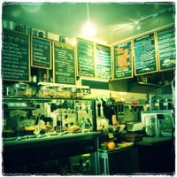 Photo taken at Cafe Champignon by Jae eun S. on 3/10/2012