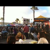 6/29/2012 tarihinde Megu K.ziyaretçi tarafından Oceanside Farmers Market'de çekilen fotoğraf