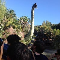 Photo taken at Jurassic Park The Ride by Daniel S. on 9/30/2012