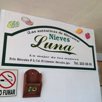Photo taken at Nieves Luna by Ernesto on 8/16/2014